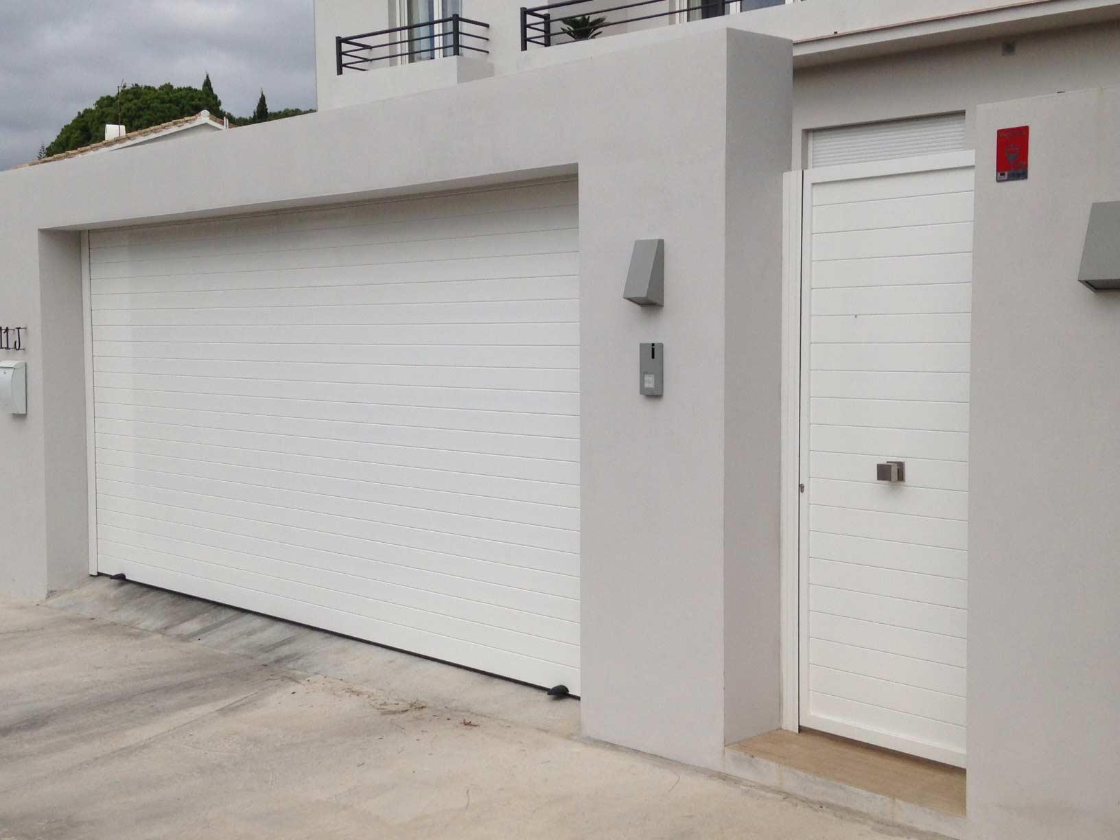Tipos de puertas autom ticas en torremolinos garajes for Puertas enrollables