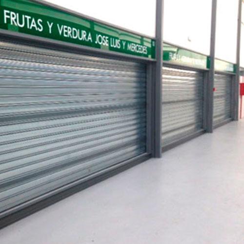 puertas enrollables de acero galvanizadas