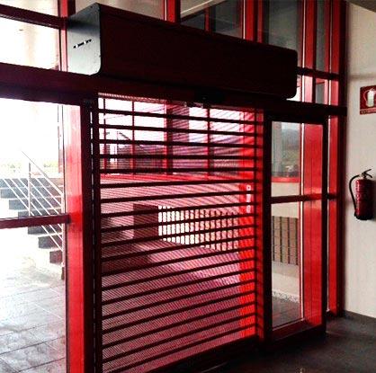Puerta microperforada Malaga