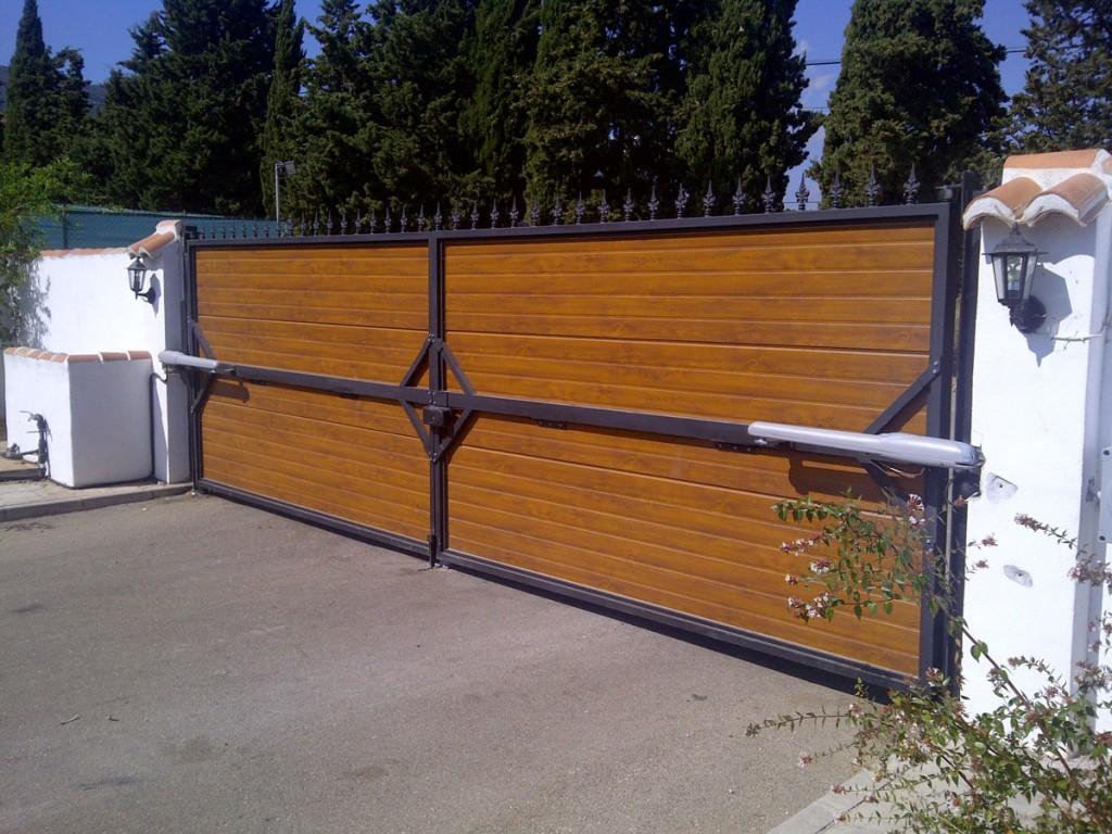 Automatismo para puerta de garaje