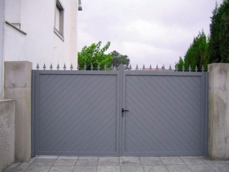 Puertas de garaje batientes automáticas