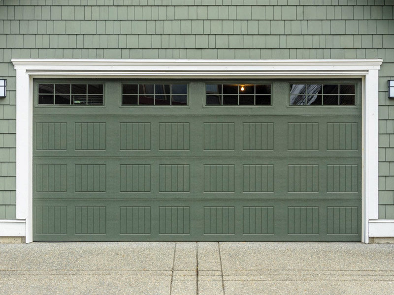 Tipos de puertas de garaje